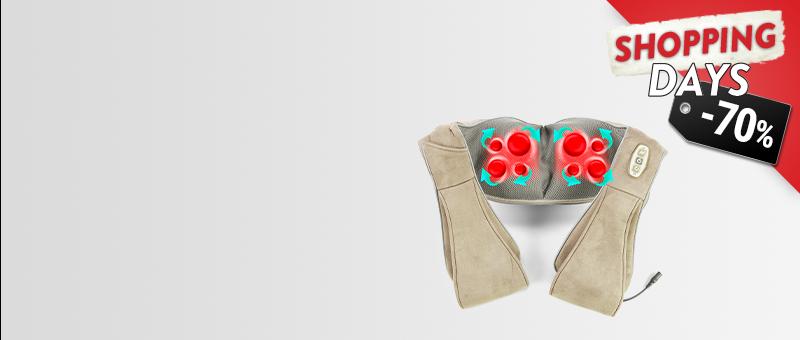 Masazhues për trup 3D Shiatsu